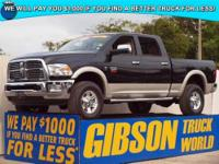 WWW.GIBSONTRUCKWORLD.COM 2011 Dodge Ram 2500 Laramie