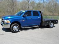 Exterior Color: blue, Body: Crew Cab Chassis-Cab,