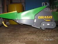 2011 drago 6 row 30 inch chopping corn header with