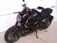 2011 Ducati Diavel Carbon with $5K of Accessories