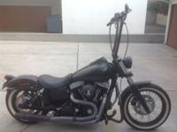 2011 Dyna Street Bob Harley Davidson for sale. Original