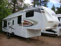 The Eagle Super Lite fifth wheel features many of the