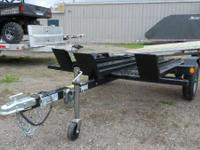 2011 Echo Trailers EMC-7-12 3 RAIL MOTORCYCLE TRAILER