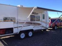 2011 Eclipse Milan. 18 Feet Air Conditioning Awning