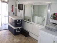 fully loadedE custom concession trailer with covered