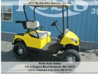 2011 EZ-GO RXV Electric Lift Custom Front, 1Address: