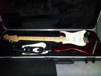 I have a brand new Fender Stratocaster with case and