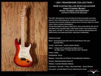 2011 Custom Deluxe Stratocaster with Flame Maple Top