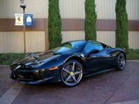 Outstanding condition 1-owner 458 Italia sold-new from