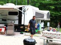 2011 Forest River Shamrock. This is a hybrid trailer