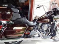 2011 H-D FLTRU Road Glide Ultra. The FLTRU combines the