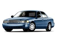 This Ford Crown Victoria has a strong Gas/Ethanol V8