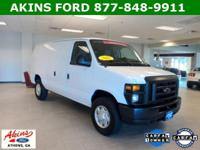 Options Included: Commercial Cargo Van Package, Power