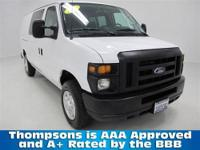 CarFax ONE OWNER!.......2011 Ford E150 Cargo Van