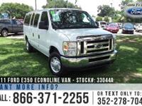 2011 Ford Econoline Van XLT Features: V8 5.4 L Engine -