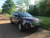 Sunroof !! 2011 Ford Edge Limited Red Candy Metallic