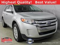 2011 Ford Edge SEL Ingot Silver Metallic Clean CARFAX.