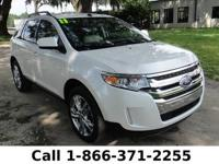 2011 Ford Edge Limited Features: Keyless Entry - Tinted