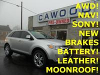 Options:  2011 Ford Edge Limited|Ingot Silver