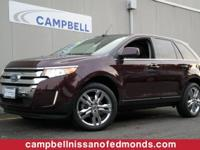 Ford Edge Limited AWD w/Panoroof and Navigation.When