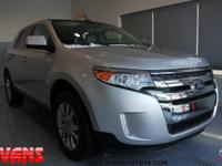 Clean CARFAX. SILVER 2011 Ford Edge Limited FWD 6-Speed