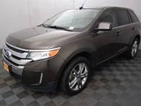 Clean CARFAX. Bronze 2011 Ford Edge Limited FWD 6-Speed