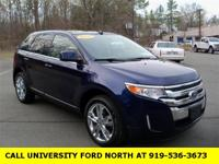 CARFAX One-Owner. Clean CARFAX. 2011 Ford Edge Limited