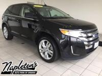 Recent Arrival! 2011 Ford Edge in Black, AUX