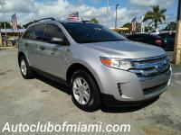 Options:  2011 Ford Edge Se 4Dr Crossover|Silver|All Of