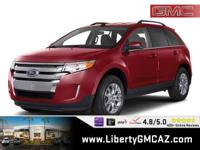Clean CARFAX. 2011 Ford Edge SE FWD 6-Speed Automatic