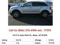 2011 Ford Edge SE SE SUV White V6 3.5L Gas FWD Want to