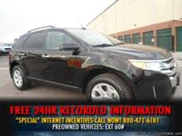 2011 Ford Edge SEL AWD *NEW TIRES* BLACK - SYNC - WOW -