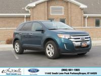 Scores 25 Highway MPG and 18 City MPG! This Ford Edge