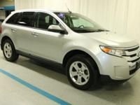 2011 Ford Edge SEL in Silver... AWD. Don't let the