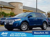CARFAX One-Owner. Clean CARFAX. Green 2011 Ford Edge