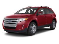2011 Ford Edge SEL. STOP! Read this! In a class by