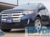 2011 Ford Edge in Kona Blue Metallic exterior and