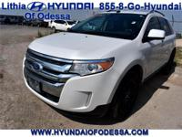 EPA 27 MPG Hwy/19 MPG City! SEL trim. CD Player, Dual