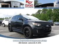 Clean CARFAX. 2011 Ford Edge Sport FWD 6-Speed