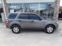 Get excited about the 2011 Ford Escape! Very clean and