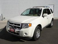 AWD. Fantastic gas mileage for an SUV! White Beauty!