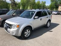 Clean CARFAX. Silver 2011 Ford Escape XLT AWD 6-Speed