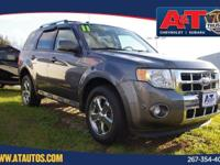 Gray 2011 Ford Escape Limited AWD 6-Speed Automatic