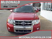 Options:  2011 Ford Escape Limited 4X4|Miles: