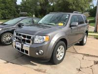 Sterling Gray Metallic 2011 Ford Escape Limited AWD