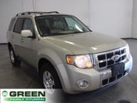 2011 Ford Escape Limited Gold Leaf Metallic FWD 6-Speed