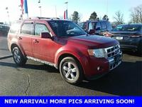 Red 2011 Ford Escape Limited FWD 6-Speed Automatic