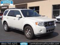 Recent Arrival! 2011 Ford Escape Limited Oxford White