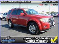 Hurry, this 2011 Ford Escape Limited won't last long!!!