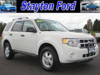 This is a 2011 Ford Escape XLT 4 Cylinder 4X4. The four